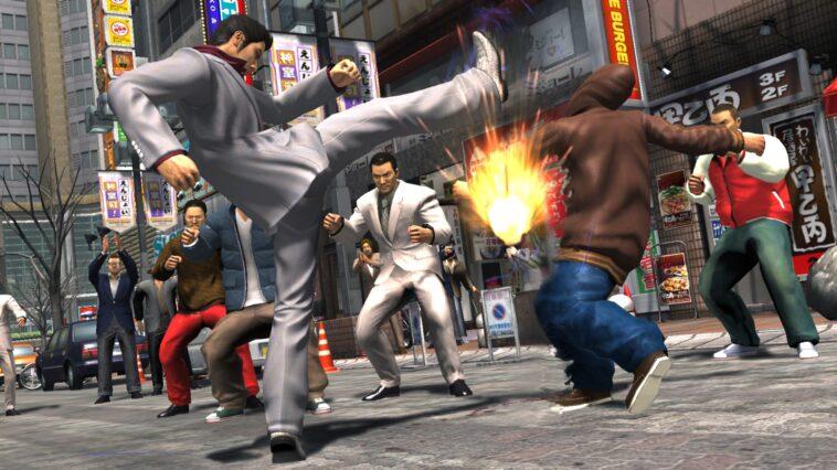 Yakuza 3 Combat